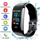 Fitness Tracker, Activity Tracker with Pedometer Blood Pressure Heart Rate Monitor IP67 Waterproof Step Calorie Distance Tracker Call SMS SNS Remind for Men Women Kids Android IPhone