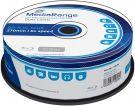 MediaRange BD-R Blu-Ray Dual Layer 50GB 6x Cake Box MR508 (25pcs)
