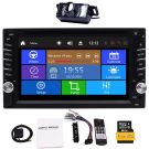 Car GPS Navigation DVD Player with Bluetooth in Dash Video Car Stereo Radio