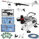FOBUY Complete Professional Airbrush Multi-Purpose Airbrushing System With Dual Action AirBrush Spray Gun for craftwork