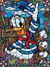 5D DIY Diamond Painting set, Donald Duck (30 x 40 cm)