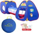 Peradix Pop Up Kids Play Tent Tunnel 3 in 1(Unisex)