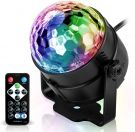 Spriak Disco Ball Musically Controlled LED Light Effects (7 Colours)
