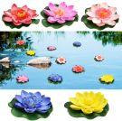 Floating Flowers Artificial Water Lilies, Eva Lotus 10 cm (Pack of 5)
