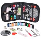 Coquimbo Mini Portable Sewing Kit Accessories Carrying Case Set for Home, Travel, Emergency Use