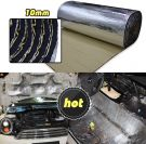 Heat Shield Thermal Sound Insulation Proofing Deadener Mat Car 10mm (100cm x 200cm)