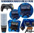 Video Gaming set party decoration (20 people 83 pieces)