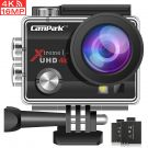 Campark ACT74 Action Camera 4K 16MP Waterproof Cam 30M Underwater Camera 170°Wide View Angle 2.0 Inch LCD Screen