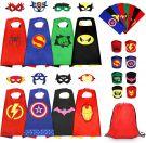 Superhero Children's Costume unisex set 8pcs, age 2 to 15 (one size)