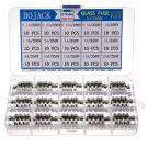 Bojack Glass Fuses Assortment Kit 15 Values (150 Pieces)