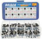 Bojack Performance General Purpose Transistors Assortments kit (10 Values 250 Pieces)