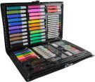 Coloring Case with 86 Multi-Coloured Accessories, (34.3 x 3.8 x 26 cm)