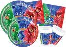 Ciao Set Party PJ Masks for 8 person 44pcs (Y4321)