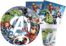 Ciao Avengers Set Party For 24 People (88 pieces) Y6171