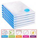 Vacuum Storage Bag For Clothes Saving Bag Vaccum Pack Saver UKDC 90x50cm (5pcs)