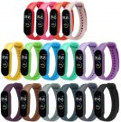 Xiaomi MI Band 5/6 Silicone Replacement Wristband Bracelet (Colorful)