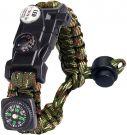 Survival Bracelet Kit 8 in 1 (Camouflage)