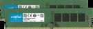 Crucial 8GB Kit (2 x 4GB) DDR4-2400 UDIMM (CT2K4G4DFS824A)