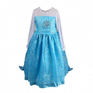 Elsa Frozen princess dress costume size 5-6/130cm