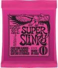 Ernie Ball Super Slinky Nickel Wound Electric Guitar Strings 9-42 Gauge (P02223)