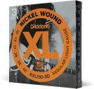 D'Addario XL Nickel Wound Regular Light (.010-.046) Electric Guitar Strings 3-Pack (EXL110-3D)