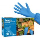 Hevea Nitrile Disposable Gloves  Powder and Latex-Free - Pack of 100 (XL)