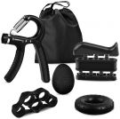 iToncs non-slip hand finger trainer 5-piece set (5kg - 60kg)