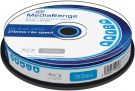 MediaRange BD-R Blu-Ray Dual Layer 50GB 6x Cake Box MR507 (10pcs)