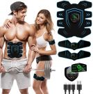 EMS Training Device Abdominal Muscle Stimulator Abdominal Trainer ABS With LCD Display