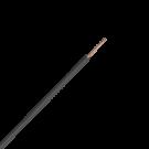 Cable ΝΥΑF 1Χ2.5mm² 1 meter H07V-K (Black)