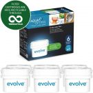 Aqua Optima Evolve 6 month pack, 6 x 30 day water filters - Fit BRITA Maxtra (not Maxtra+) - EVS602