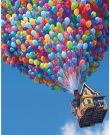 5D Diamond Painting DIY Full Kit for Adults for Home Wall Decor - Balloon (11.8×15.8 Inch)