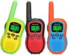 Retevis RA617 Walkie Talkie for Kids 3-12 Years 16 Channels with LCD Flashlight VOX (3-Pack)