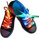 LED Shoelaces 3 Light Modes (White 100cm)