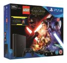 Sony PlayStation 4 500GB Console with LEGO Star Wars The Force Awakens Game + BluRay Movie