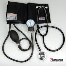 Valuemed Medical - Aneroid Sphygmomanometer Blood Pressure Monitor Meter + Stethoscope