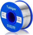 TABIGER Lead Free Solder Wire 97Sn-2Rosin-0.7Cu-0.3Ag (0.6mm 50g)