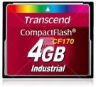 Transcend TS4GCF170 CompactFlash Class 6 memory card (4GB)