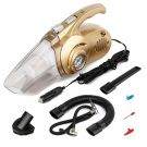 Anxilant Car Vacuum Cleaner 3.5K 120W Wet/Dry Washable Filter Low Noise Vacuum Cleaner Air Inflating Tyre Pressure Gauge for Tyres