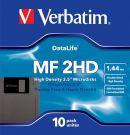 Verbatim 87410 3.5 Inch Floppy Disk 1.44 MB (10 pcs)